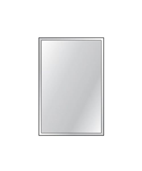 Alternate image of HIB Bevelled Bathroom Mirror 4mm Float Glass Portrait 250 x 350mm 3 Per Pack