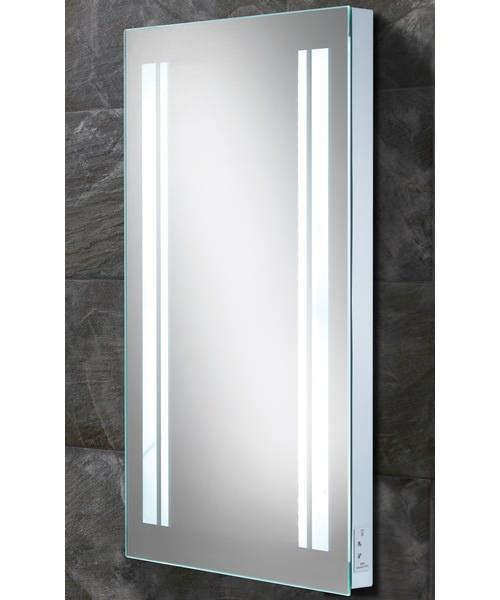 HIB Nexus Steam Free LED Back-Lit Mirror With Shaver Socket 450 x 800mm