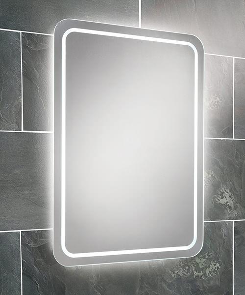 HIB Natalia Steam Free LED Back-Lit Bathroom Mirror 500 x 700mm