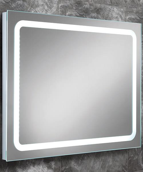 HIB Scarlet Steam Free LED Back-Lit Bathroom Mirror 800 x 600mm