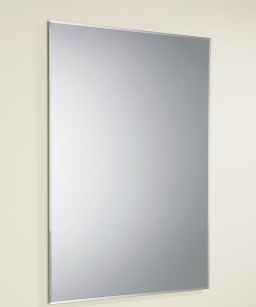HIB Joshua Bevelled Edge Rectangular Mirror 500 x 700mm