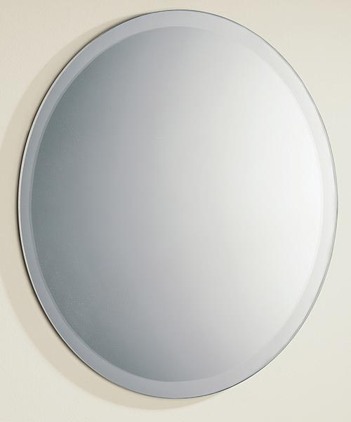 HIB Rondo Bevelled Edge Circular Mirror 500mm
