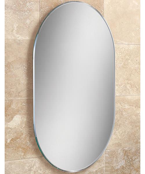 HIB Jessica Landscape Or Portrait Lozenge Shaped Mirror 400 x 600mm