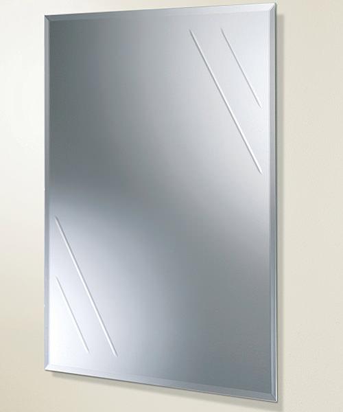 HIB Albina Rectangular Bevelled Edge Mirror 450 x 600mm