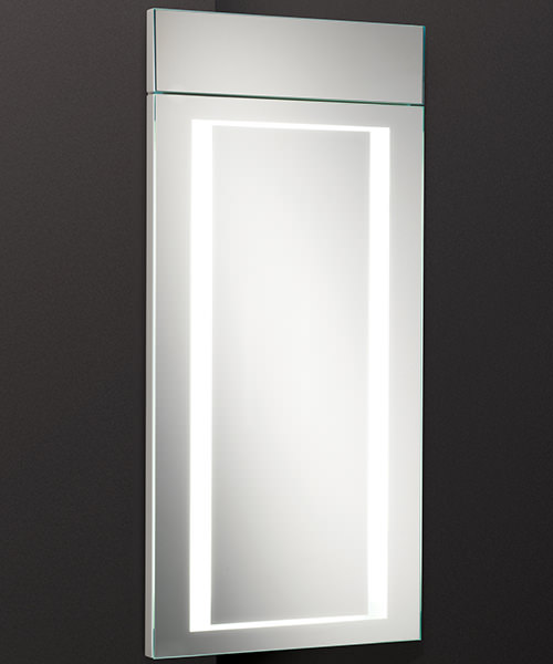 HIB Minnesota Corner Bathroom Cabinet LED Illuminated - W 300 x H 630mm