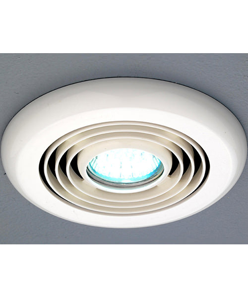 Ceiling Mounted Extractor Fan For Bathroom: HIB Turbo Inline White Ceiling Mounted Extractor Fan