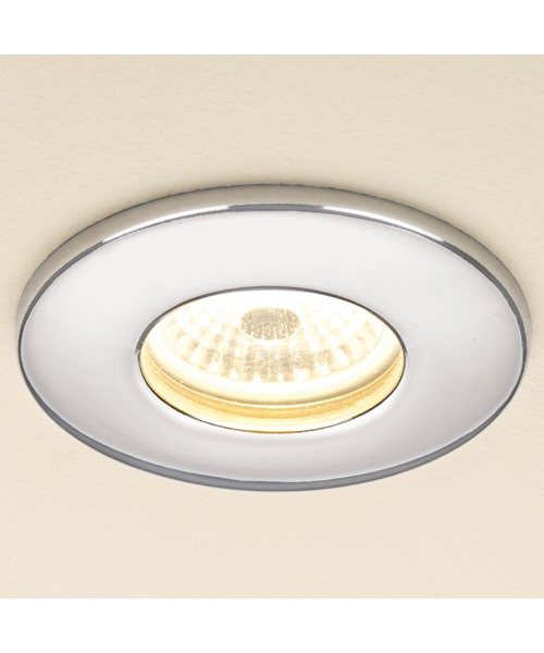 Additional image of HIB Fire Rated Warm White LED White Showerlight