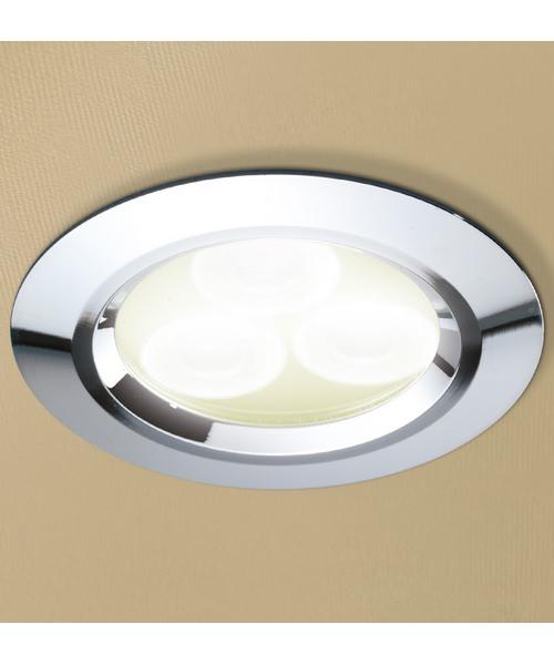 Additional image of HiB Warm White LED Showerlight - White