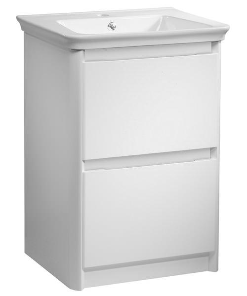 Tavistock Equate 600mm Gloss White Floor Mounted Vanity Unit