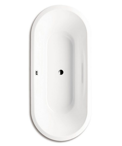 Kaldewei Ambiente Vaio Duo Oval 951 Double Ended Oval Steel Bath 1800 x 800mm