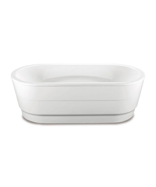Kaldewei Vaio Duo Oval 951 Oval Steel Bath With Moulded Panel 1800 x 800mm