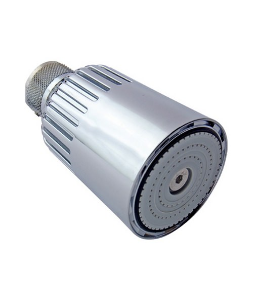 Bristan Swivel Showerhead With Vandal Resistant Screw Fixing