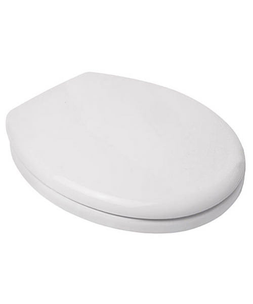 Croydex Safe Flush White Toilet Seat