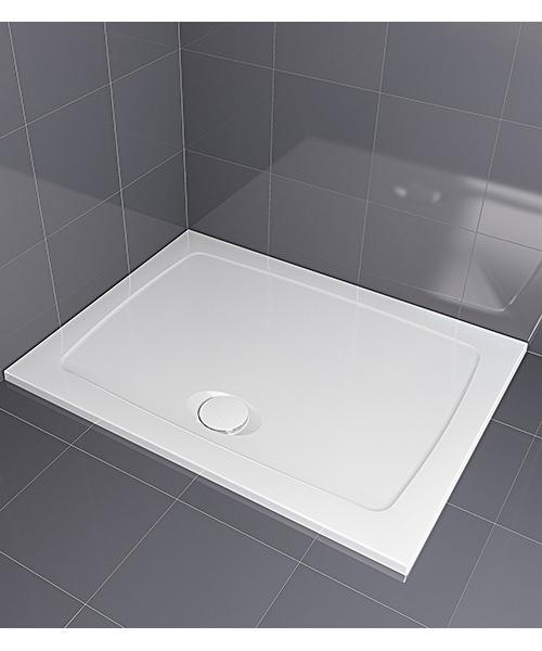 Aqualux Aqua 30 Rectangle Shower Tray 1200 x 760mm