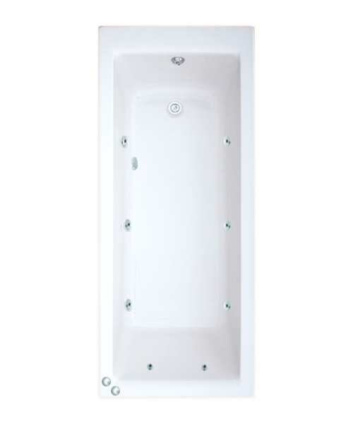 Trojan Elite Double Ended 8 jets Whirlpool Bath 1700 x 700mm