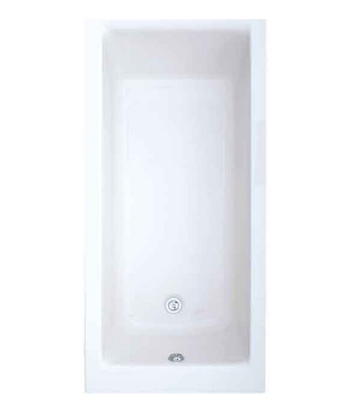 Trojan Elite Solo Single Ended 5mm Acrylic Bath 1500 x 700mm