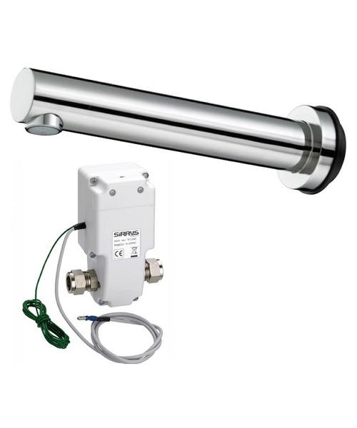 Bristan Pulse 8 Automatic Basin Wall Spout 200mm