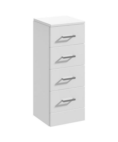 Nuie Premier Mayford 300 x 300mm 4 Drawer Furniture Cabinet