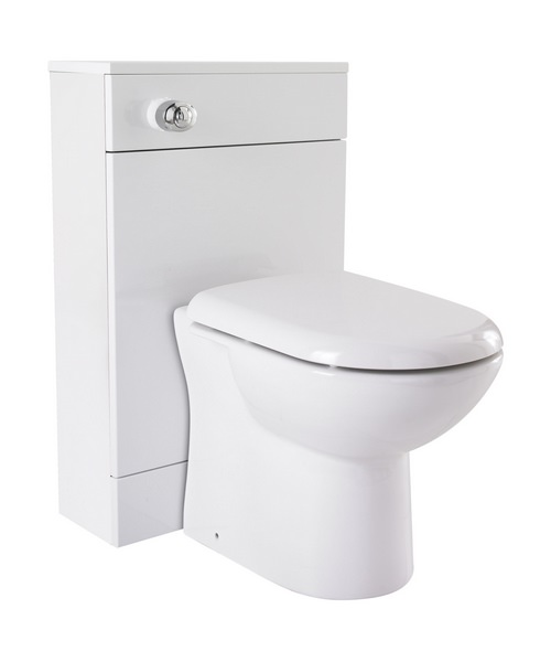 Nuie Premier Mayford 600 x 300mm Back-To-Wall WC Furniture Cabinet