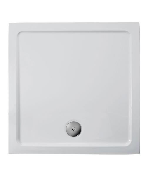 Ideal Standard Simplicity 700 x 700mm Flat Top Square Shower Tray With Waste
