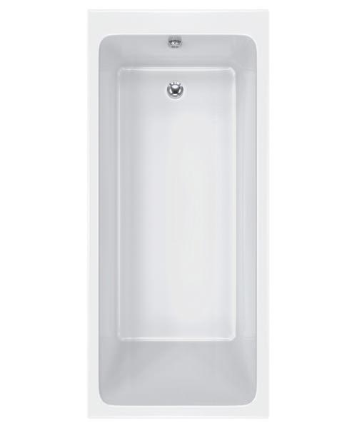 Carron Quantum 5mm Acrylic Single Ended Bath 1600 x 800mm