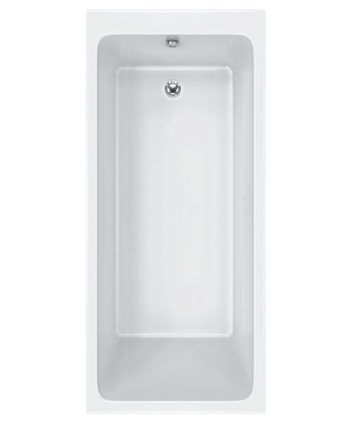 Carron Quantum Single Ended 5mm Acrylic White Bath 1700 x 750mm
