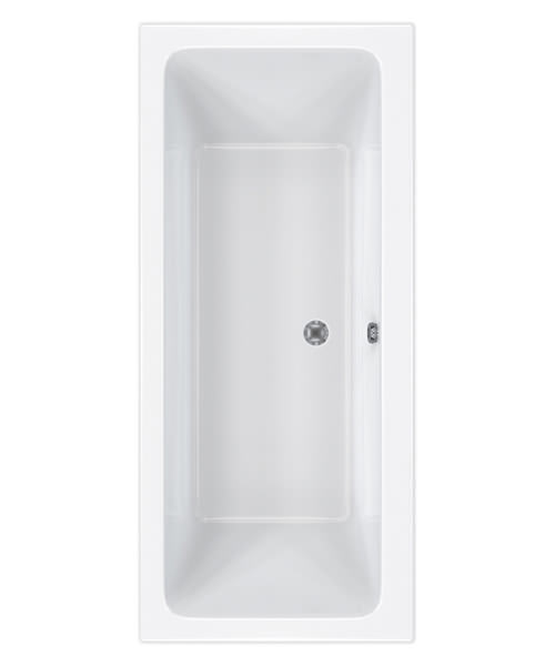 Carron Quantum Double Ended 5mm Acrylic Bath 1700 x 750mm