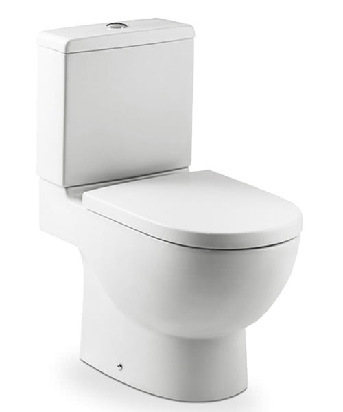 Roca meridian n close coupled wc pan including cistern for Wc roca meridian