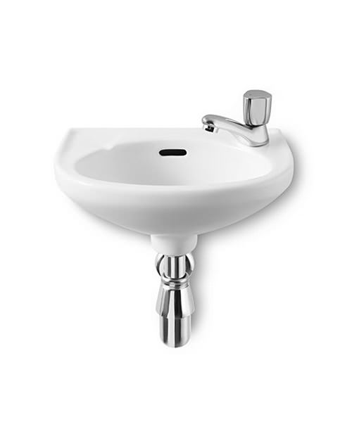 Roca Laura 350 x 225mm Cloakroom Basin With 1 Right Hand Taphole