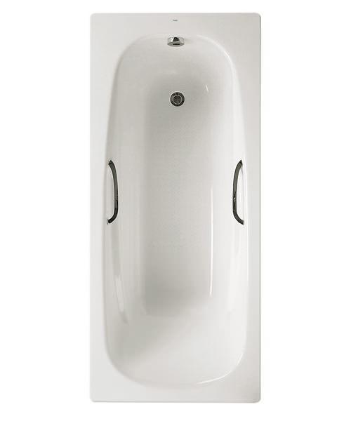 Roca Carla Eco Steel Bath 1700 x 700mm With And Anti-Slip Base