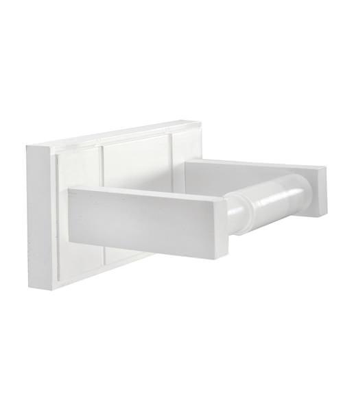 Croydex Maine White Toilet Roll Holder