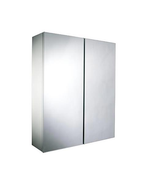 Croydex Alaska 2 Door White Mirror Cabinet