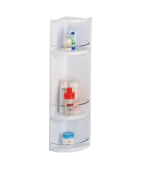 Croydex Compact 3-Tier Bathroom Storage Unit