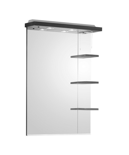 Roper Rhodes Mirage 700mm Mirror With Shelves And Canopy