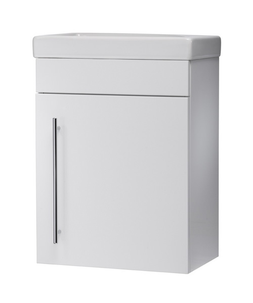 Roper Rhodes Esta 450mm Wall Mounted White Vanity Unit With Basin
