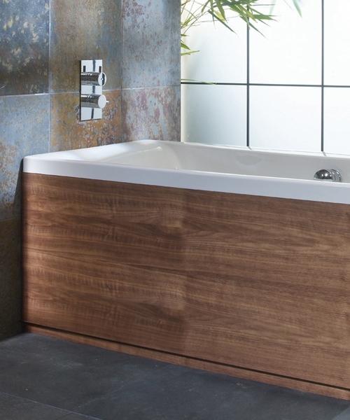 Roper Rhodes Uno Front Bath Panel In Walnut Finished