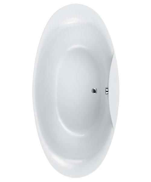 Carron Elysee Carronite Freestanding Bath 1800 x 900mm White