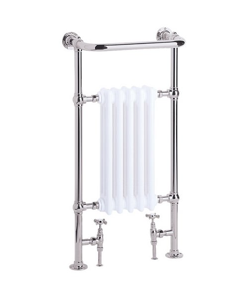 Heritage Clifton Baby Heated Towel Rail 500 x 940mm