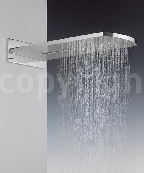 Crosswater Elite Rectangular Fixed Overhead Shower