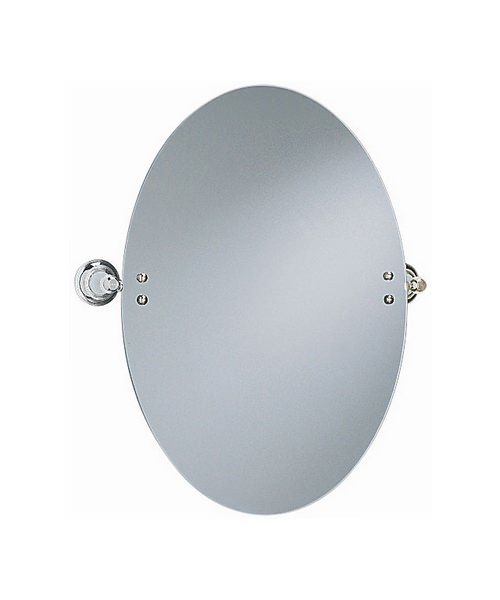 Heritage Clifton Oval Swivel Mirror