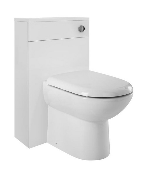 Lauren Design 500mm Back-To-Wall WC Furniture Unit
