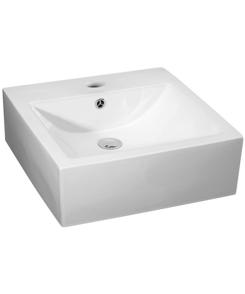 Nuie Premier 470 x 450mm Counter Top Vessel Basin