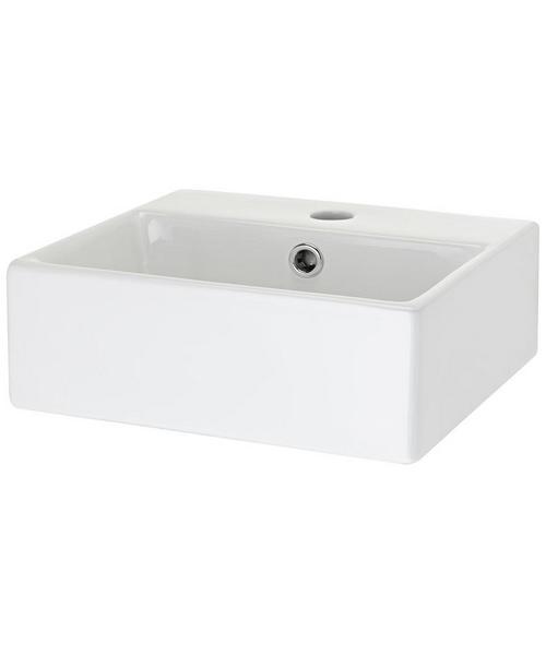 Nuie Premier 33.5 x 29.5cm Counter Top Rectangular Basin