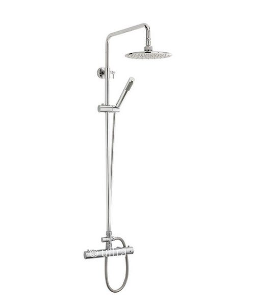Premier Thermostatic Bar Shower Valve With Telescopic Kit 1