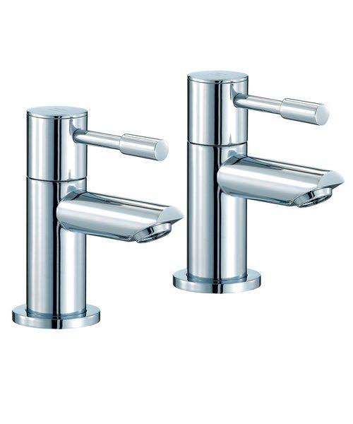 Mayfair Series F Pair Of Bath Tap Chrome