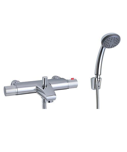 mayfair thermostatic bath shower mixer tap chrome rio thermostatic bath shower mixer tap