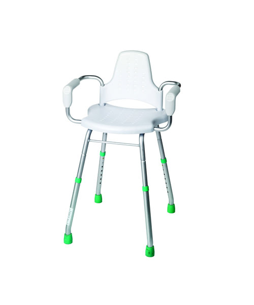 Croydex Modular White Shower Stool 930mm