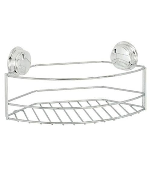 Croydex Stick N Lock Plus Large Storage Basket