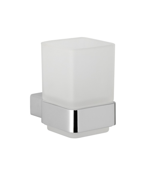 Roper Rhodes Horizon Frosted Glass Tumbler And Holder