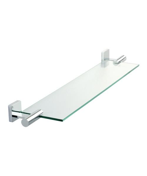 Roper Rhodes Glide Toughened Clear Glass Shelf